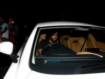 Ranveer Singh snapped at the gym in Bandra