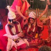Riya Sen ties the knot with Shivam Tewari in a private ceremony in Pune (1)