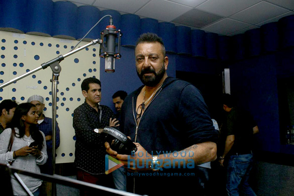 Sanjay Dutt records a Ganesha song for 'Bhoomi'