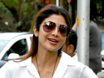 Shilpa Shetty snapped shopping in Bandra