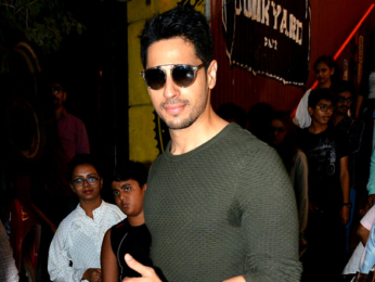 Sidharth Malhotra and Jacqueline Fernandez snapped at A Gentleman promotions