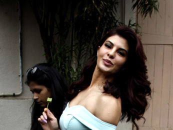 Sidharth Malhotra and Jacqueline Fernandez snapped promoting A gentleman at Mehboob Studio