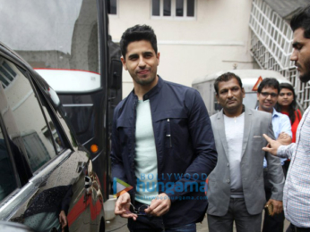 Sidharth Malhotra snapped post an ad shoot
