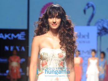 Sonal Chauhan, Disha Patani and others walk the ramp at Lakme Fashion Week 2017