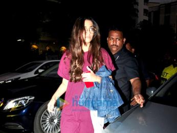 Sonam Kapoor snapped post salon session in Juhu