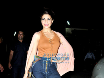 Special screening of 'A Gentleman' hosted by Jacqueline Fernandez