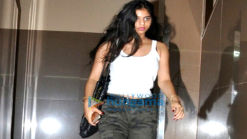 Suhana Khan and Ahaan Panday snapped post a movie at PVR, Juhu