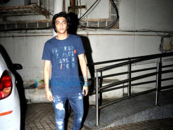 Suhana Khan and Ahaan Panday snapped post a movie at PVR, Juhu
