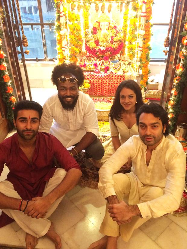 Team Qaidi Band celebrates Ganesh1