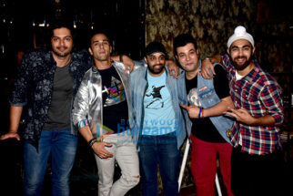 Team of 'Fukrey Returns' shoots for a promotional song in Mumbai
