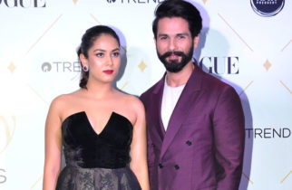 Super Couple Shahid Kapoor & Mira At The Star Studded Vogue Beauty Awards 2017