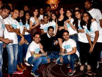 Varun Dhawan, Jacqueline Fernandez & Taapsee Pannu launch the trailer of 'Judwaa 2'
