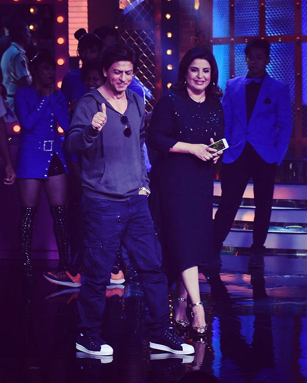 WOW! Shah Rukh Khan surprises BFF Farah Khan by paying impromptu visit on 'Lip Sing Battle' sets
