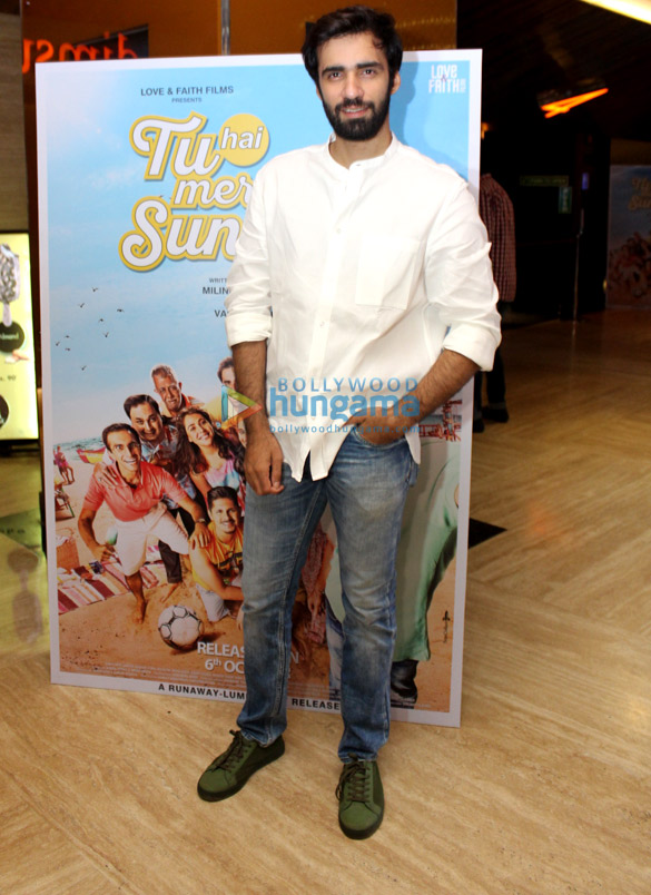 1Trailer launch of 'Tu Hai Mera Sunday'
