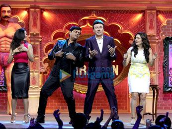 Ravi Kishan on the sets of 'Comedy Dangal'