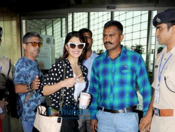 Sonam Kapoor, Shraddha Kapoor, Jacqueline Fernandez, Vidyut Jammwal and Reah Kapoor snapped at the airport