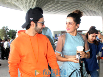 Shraddha Kapoor, Varun Dhawan and Taapsee Pannu snapped at the airport