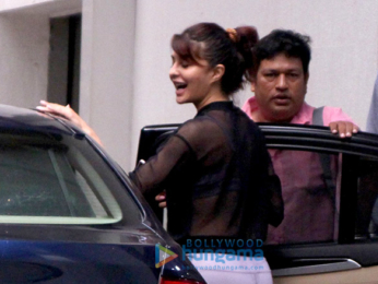 Jacqueline Fernandez snapped at her gym
