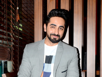 Ayushmann Khurana hosts a lunch session with media photographers