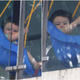 ADORABLE Taimur Ali Khan enjoys his day swinging away in these latest photos!  (4)