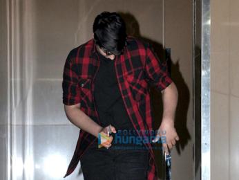 Aarav Bhatia snapped post a movie screening at PVR
