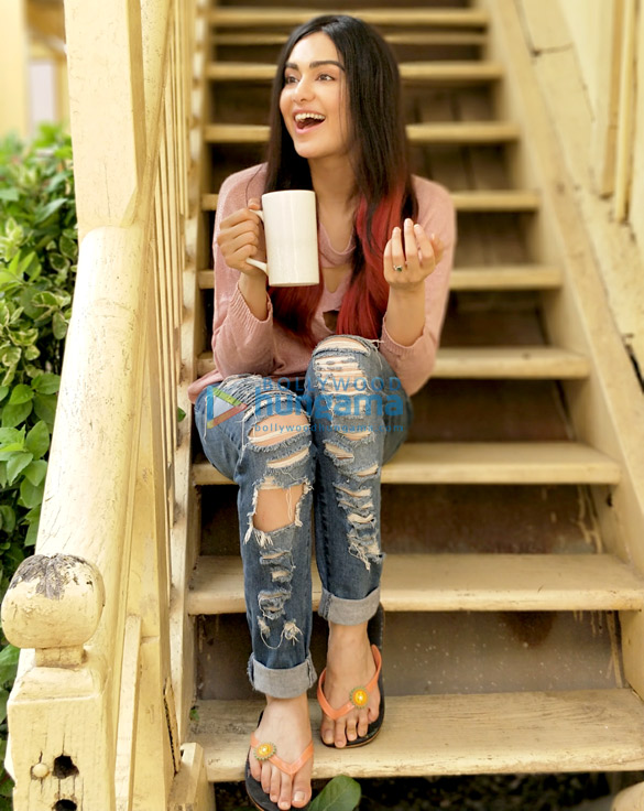 Adah Sharma shoots for her first Nescafe ad (1)