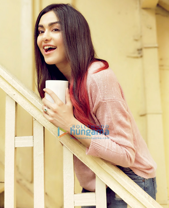 Adah Sharma shoots for her first Nescafe ad (2)