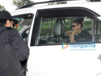 Ajay Devgn, Tamannaah Bhatia and Karan Singh Grover snapped at the airport