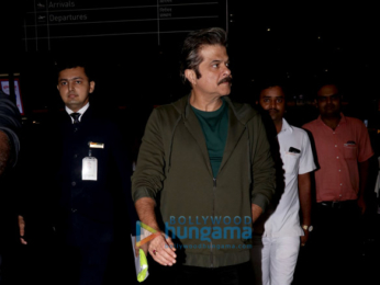 Anil Kapoor and Prachi Desai snapped at the airport