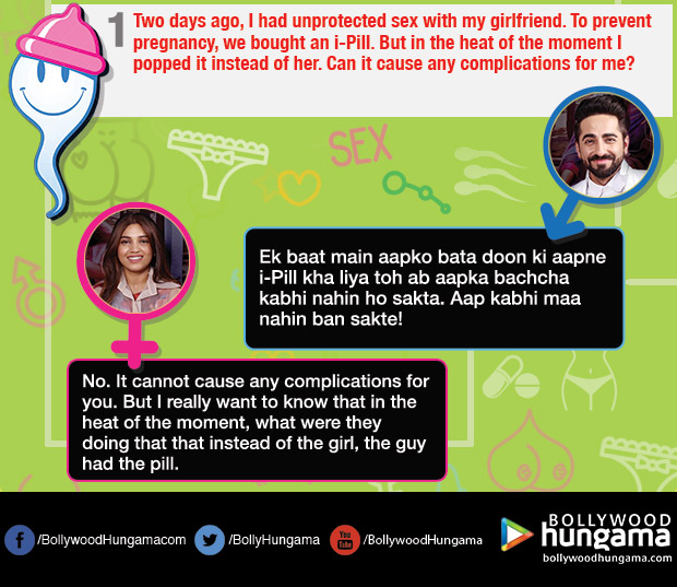 Ayushmann Khuranna and Bhumi Pednekar turn sexperts for these hilarious and weird queries on sex_01