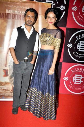 Cast and crew of the film 'Babumoshai Bandookbaaz' grace the film's success bash