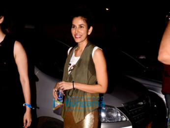 Celebs snapped at Mahalaxmi Race Course