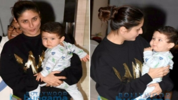 Check out Kareena Kapoor Khan kick started her birthday with son Taimur Ali Khan1
