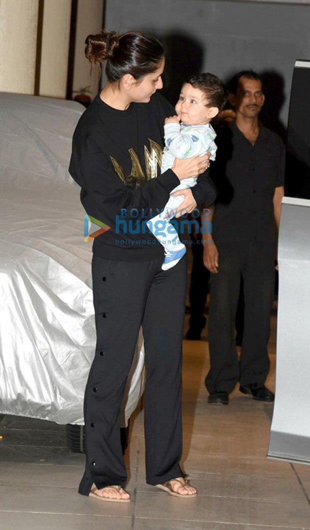 Check out Kareena Kapoor Khan kick started her birthday with son Taimur Ali Khan2
