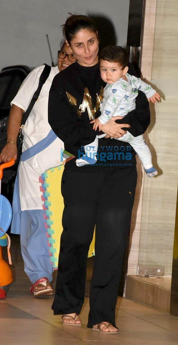 Check out Kareena Kapoor Khan kick started her birthday with son Taimur Ali Khan3