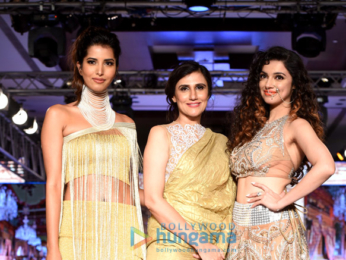 Divya Khosla Kumar walks the ramp at Bombay Times Fashion Week