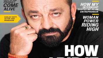 Sanjay Dutt On The Cover Entrepreneur