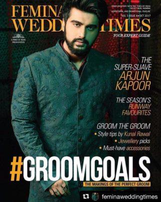 Arjun Kapoor On The Cover Of Femina