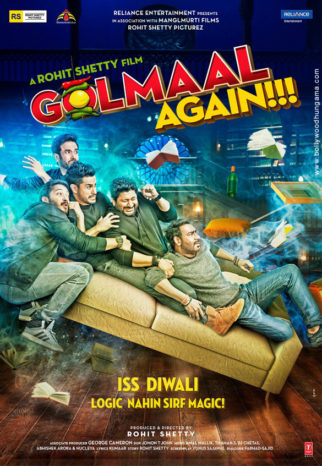First Look Of The Movie Golmaal Again
