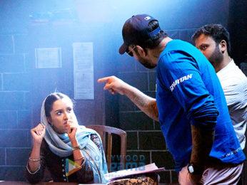 On The Sets Of The Movie Haseena Parkar