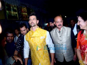 Hrithik Roshan graces the Basanti Chola Diwas event