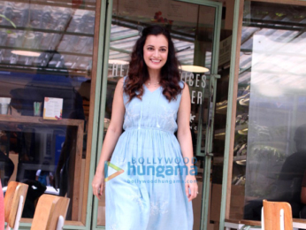 Dia Mirza snapped at The Kitchen Garden