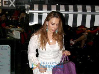 Iulia Vantur spotted after her salon session