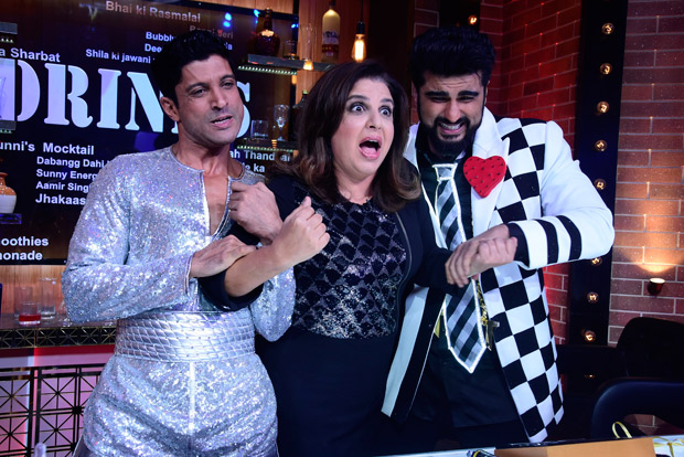 INSIDE PICS This is what happened when Farhan Akhtar and Arjun Kapoor came together for Farah Khan's show (2)