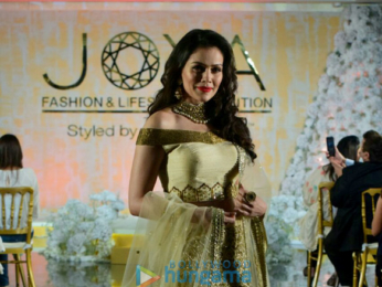 Richa Chadda, Urvashi Rautela, Sophie Choudry, Mandana Karimi and others walk the ramp at the Joya Lifestyle and Fashion Exhibition