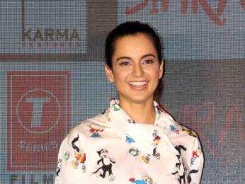 Kangana Ranaut at the song launch of 'Single Rehne De' from 'Simran'