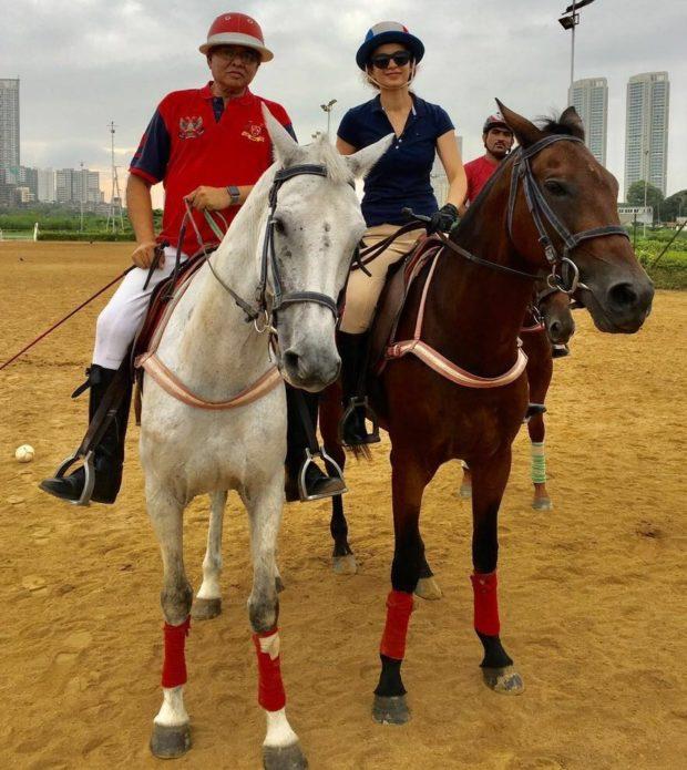 Kangana Ranaut resumes horse riding
