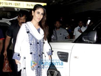 Kareena Kapoor Khan snapped at the airport