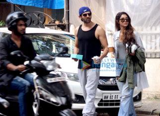 Kartik Aaryan snapped in Bandra