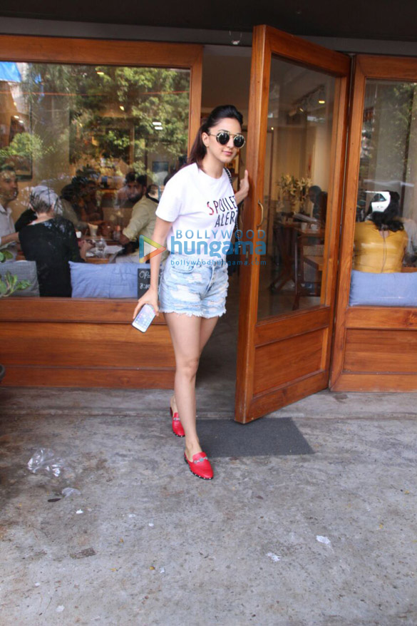 Kiara Advani spotted at Sequel Bistro & Juice Bar